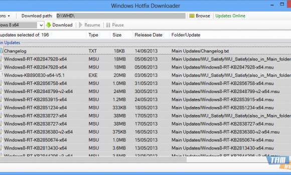 Windows Hotfix Downloader Ekran Görüntüleri - 3