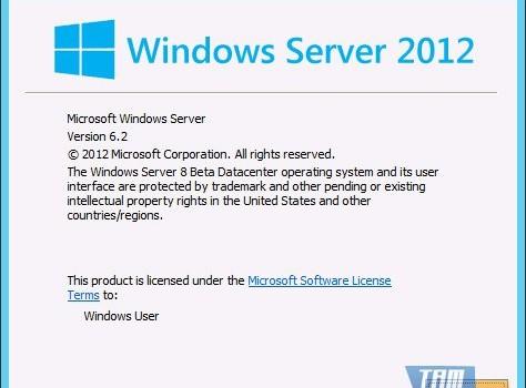 Windows Server 2012 Ekran Görüntüleri - 1