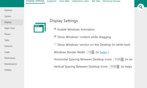 Windows Tweaker Ekran Görüntüleri - 2