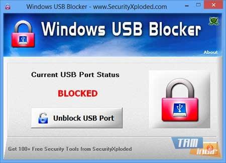 Windows USB Blocker Ekran Görüntüleri - 2