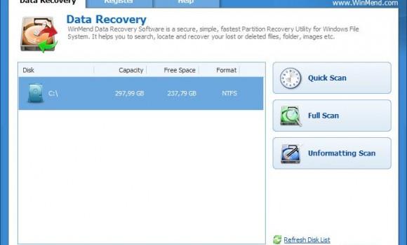 WinMend Data Recovery Ekran Görüntüleri - 3