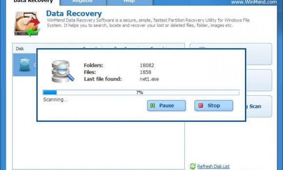 WinMend Data Recovery Ekran Görüntüleri - 2