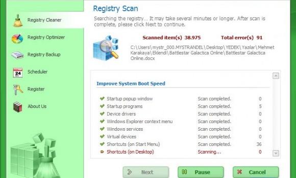 WinMend Registry Cleaner Ekran Görüntüleri - 2