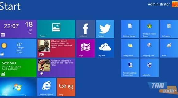 WinMetro Ekran Görüntüleri - 1