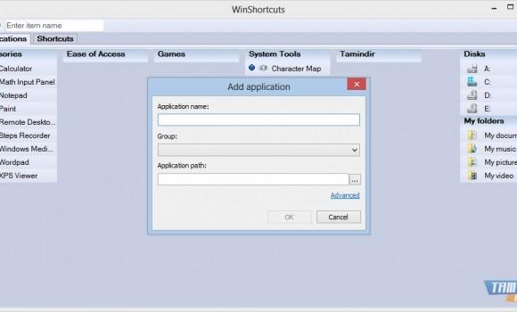 WinShortcuts Ekran Görüntüleri - 1