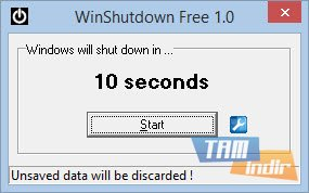 WinShutdown Free Ekran Görüntüleri - 2