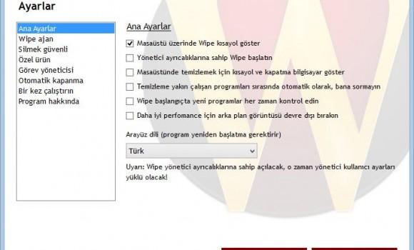 Wipe Ekran Görüntüleri - 4