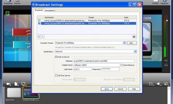 Wirecast Ekran Görüntüleri - 2