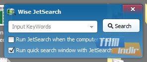 Wise JetSearch Ekran Görüntüleri - 1