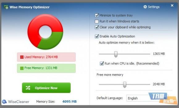 Wise Memory Optimizer Ekran Görüntüleri - 1