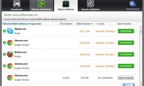 Wise Game Booster Ekran Görüntüleri - 2
