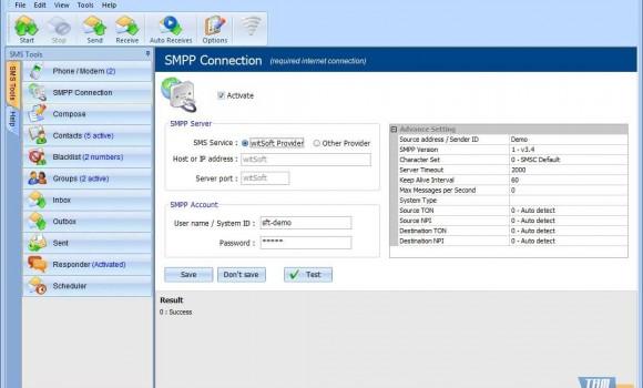 witSoft SMS GSM Ekran Görüntüleri - 5
