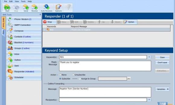 witSoft SMS GSM Ekran Görüntüleri - 2