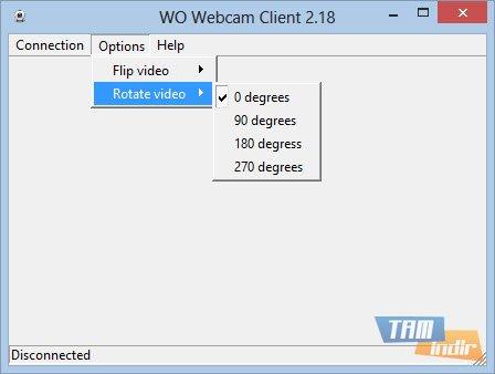 WO Webcam Client Ekran Görüntüleri - 1