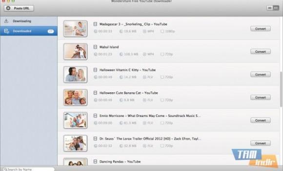 Wondershare Free YouTube Downloader for Mac Ekran Görüntüleri - 2