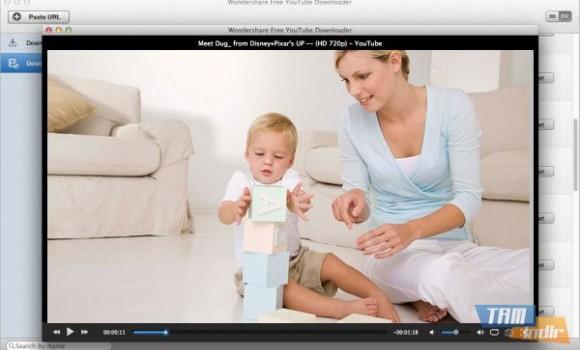 Wondershare Free YouTube Downloader for Mac Ekran Görüntüleri - 1