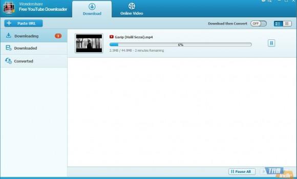Wondershare Free YouTube Downloader Ekran Görüntüleri - 2