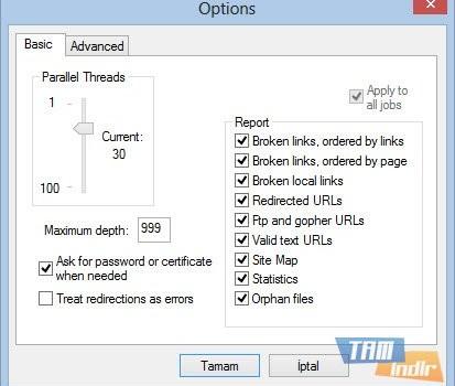 Xenu Link Sleuth Ekran Görüntüleri - 1