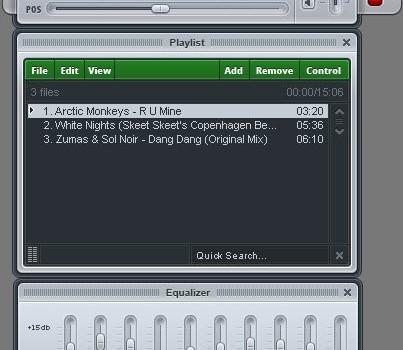 Xion Audio Player Ekran Görüntüleri - 2