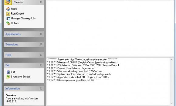 Xleaner Ekran Görüntüleri - 2