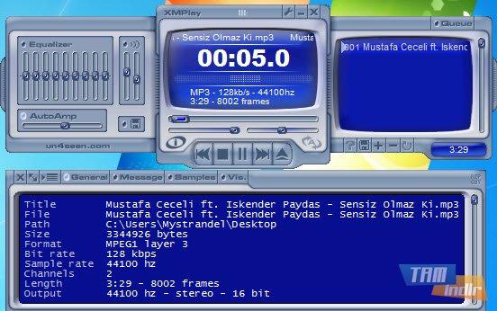XMPlay Ekran Görüntüleri - 1