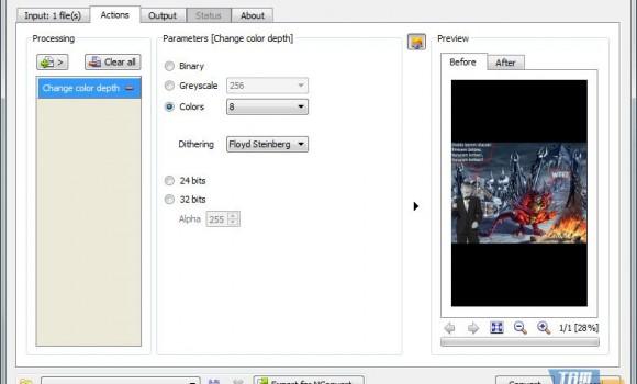 XnConvert Ekran Görüntüleri - 2