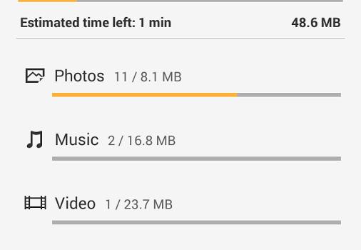 Xperia Transfer Mobile Ekran Görüntüleri - 2