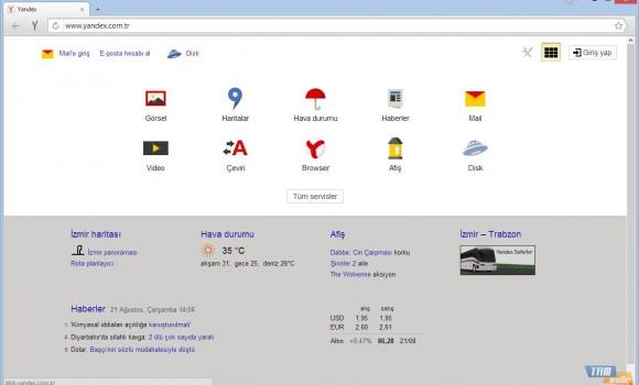 Yandex Browser Ekran Görüntüleri - 1