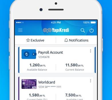 Yapı Kredi Mobil Bankacılık Ekran Görüntüleri - 3
