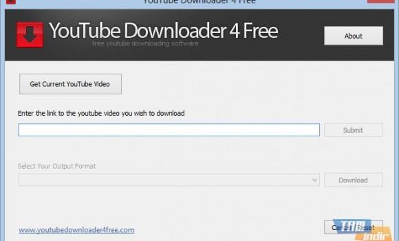 YouTube Downloader 4 Free Ekran Görüntüleri - 1