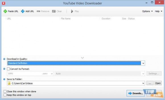 YouTube Video Downloader Ekran Görüntüleri - 4
