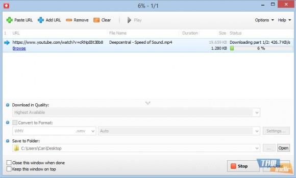 YouTube Video Downloader Ekran Görüntüleri - 1