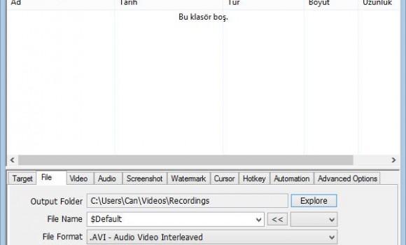 ZD Soft Screen Recorder Ekran Görüntüleri - 4