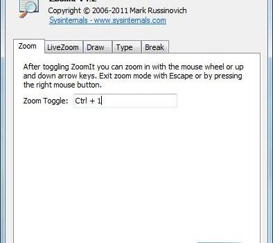 ZoomIt Ekran Görüntüleri - 1