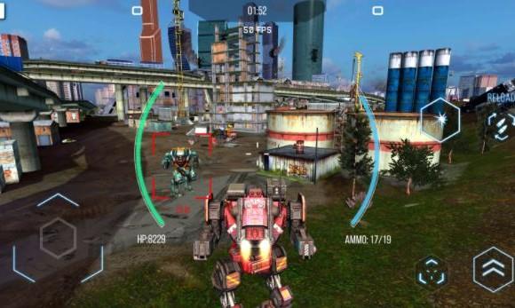 Robot Warfare: Battle Mechs Ekran Görüntüleri - 2
