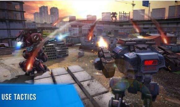 Robot Warfare: Battle Mechs Ekran Görüntüleri - 1
