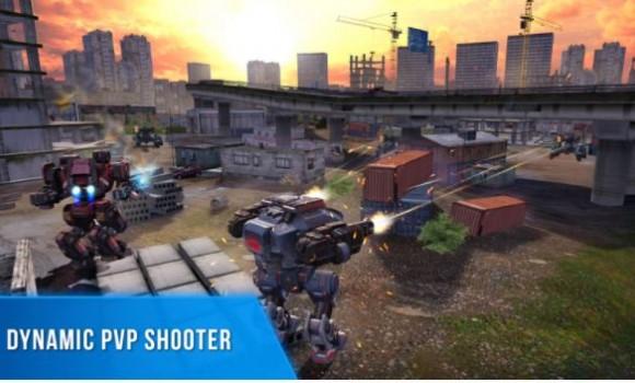 Robot Warfare: Battle Mechs Ekran Görüntüleri - 3