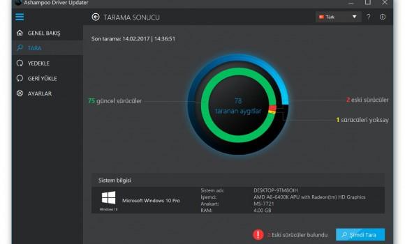 Ashampoo Driver Updater Ekran Görüntüleri - 3