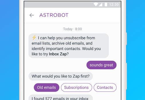 Astro: AI meets Email Ekran Görüntüleri - 3