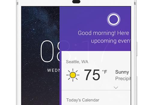 Cortana for Samsung Ekran Görüntüleri - 2