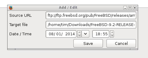 Download Scheduler Ekran Görüntüleri - 2