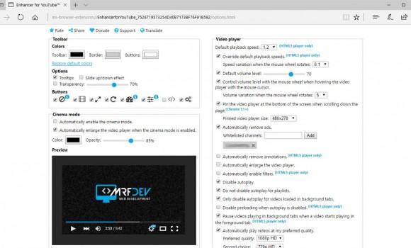 Enchancer for YouTube Ekran Görüntüleri - 1