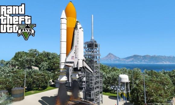 GTA 5 Space Mode Ekran Görüntüleri - 1