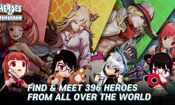 Heroes of Tomorrow Ekran Görüntüleri - 1