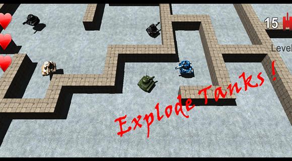 Maze of Tanks Ekran Görüntüleri - 4