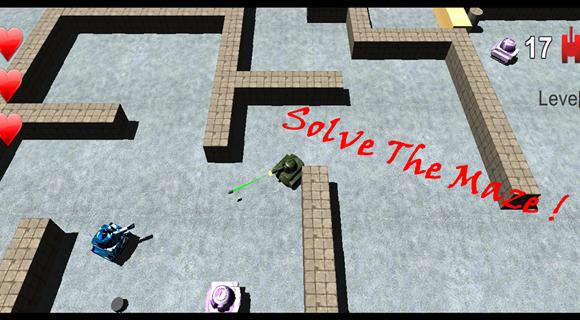 Maze of Tanks Ekran Görüntüleri - 3