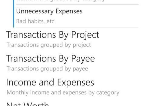 Money Tracker Free Ekran Görüntüleri - 2