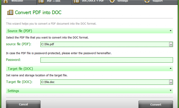 PDF Conversa Ekran Görüntüleri - 1