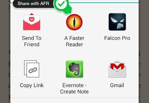 A Faster Reader Ekran Görüntüleri - 3