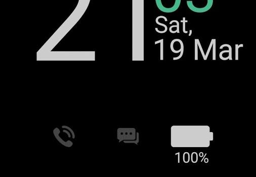 Always On Display From S7 G5 Ekran Görüntüleri - 4